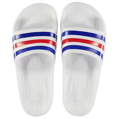 Beliebte Marke Adidas Sliders Sandals Shoes Slip Ons Sports Beach Pool White Prematch Flip Flop