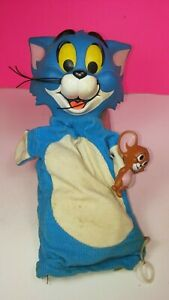 Details about Mattel 1966 Vintage Tom and Jerry Pull String Puppet Figure