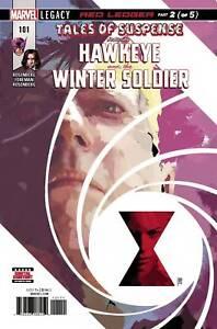 Tales-of-Suspense-Hawkeye-amp-Winter-Soldier-101-Marvel-Comic-2018-1st-print-NM