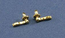 1//12 Scale 5PCS Dollhouse Miniature Bronze Handles Set Door Knobs Fittings JKUS