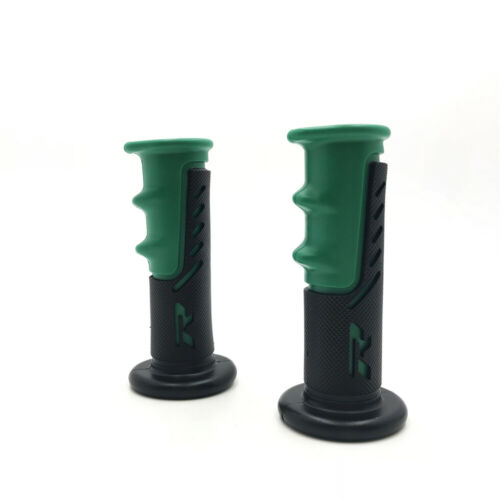 """7//8/"""" Motorcycle Scooter ATV Dirt Bike Cycle Handlebar Hand Grip Rubber 22mm"""