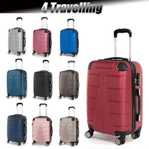 Koffer Hartschalenkoffer Reisekoffer Kofferset Trolley 4 Rollen A12 M-L-XL-Set
