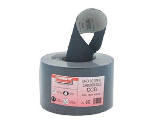 CARTA ABRASIVA ART.CCB (SIC/211) H12 GRANA 400 COD. 4014  100 METRI