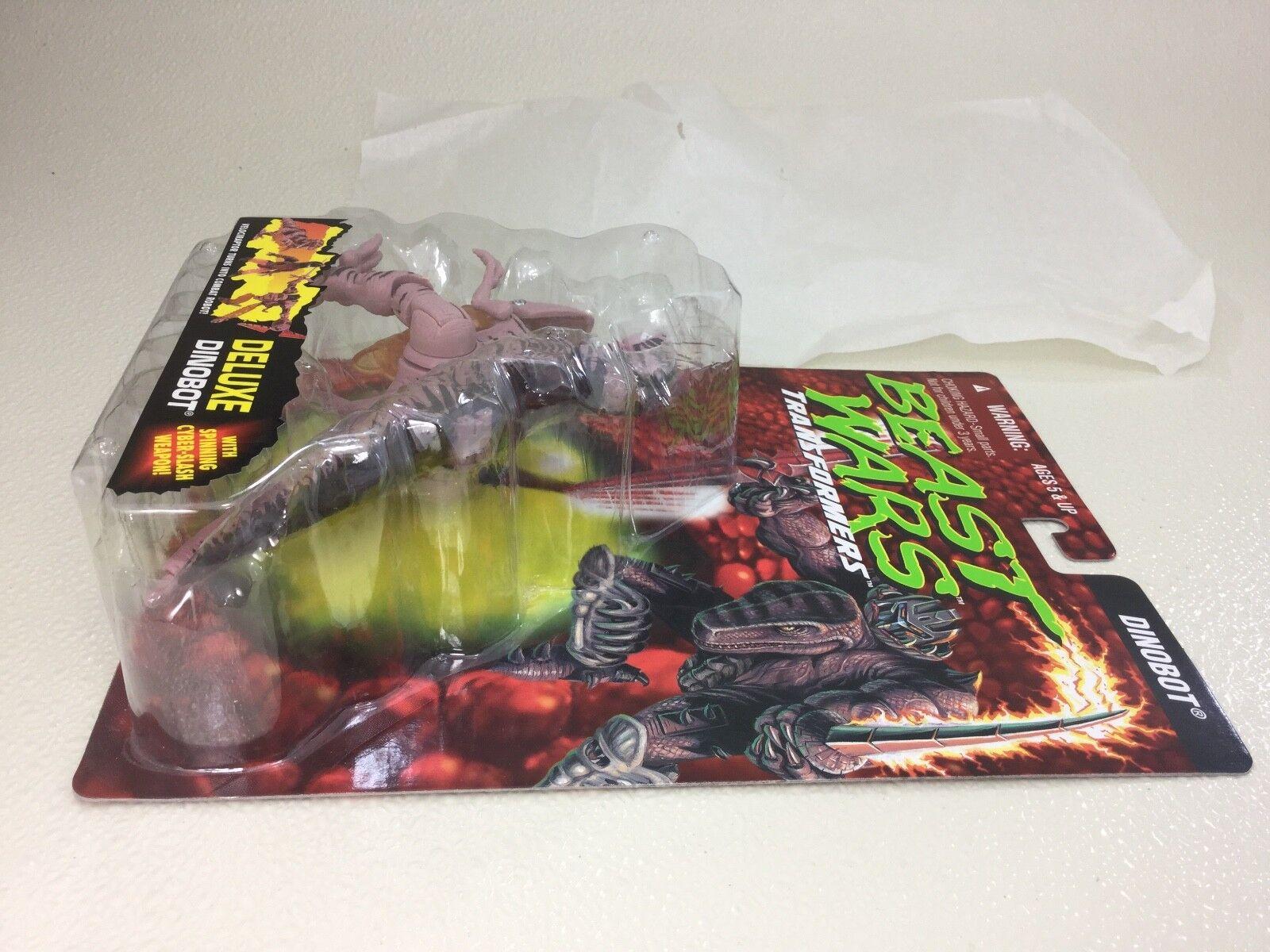 UNRELEASED TEST PACKAGING Transformers Beast Wars Dinobot Rock Packaging w  pips
