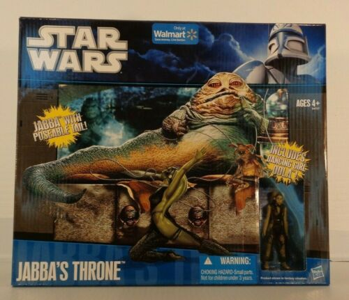 Star Wars 2010 Walmart Exclusive JABBA/'S THRONE w// OOLA Legacy Playset MISB