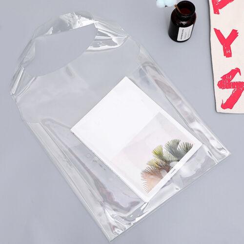 Fashion Femmes Transparente Sac Fourre-tout CRISTAL PVC Plage Sac à Main Épaule