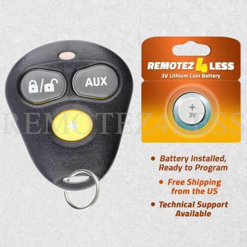 Remote For Dei Viper 3 Button Yellow Keyless Entry Car Key Fob EZSDEI474V