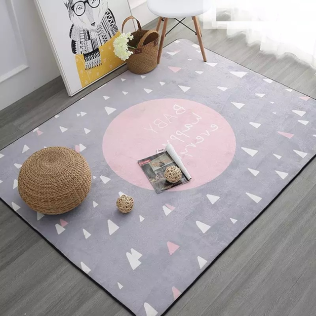 Mat Play Kids Room Baby Children Thick Soft Rugs Carpet Home Bedroom Living