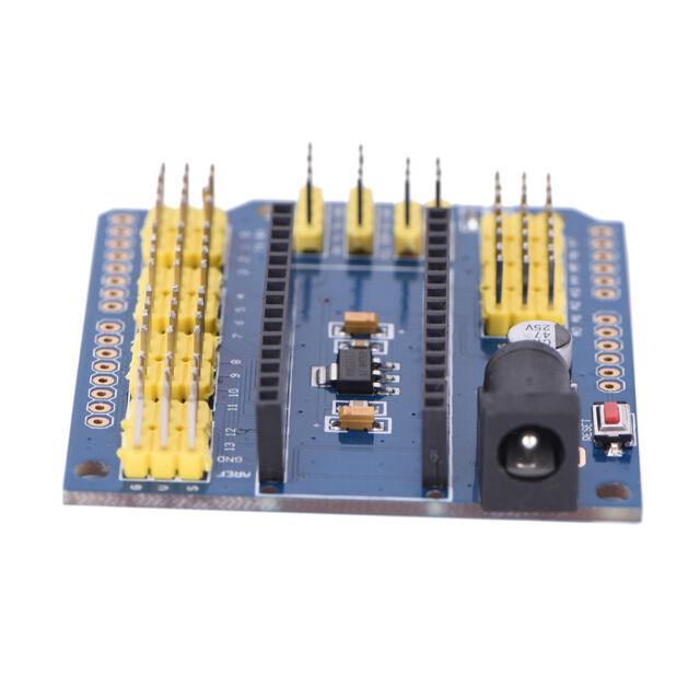 Arduino Nano V3.0  ATMEGA328P Shield I/O Extension Board Expansion Module PN