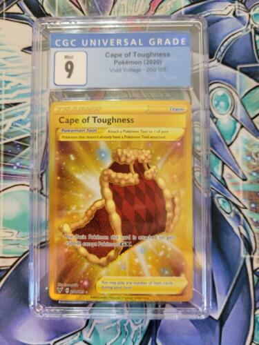 Pokemon Vivid Voltage Cape Of Toughness 200/185 CGC 9 mint