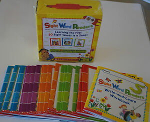 BOX-SET-25-Little-Easy-Sight-Word-Readers-PreK-Kindergarten-Homeschool-Level-A