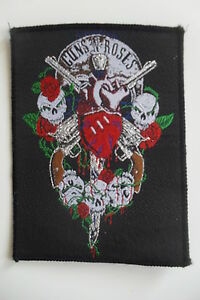 Guns-n-Roses-skeletons-Vintage-Sew-On-patch-music-logo-band-group
