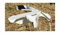 Sillosocks Flapping Snow Goose Decoy White Free Shipping