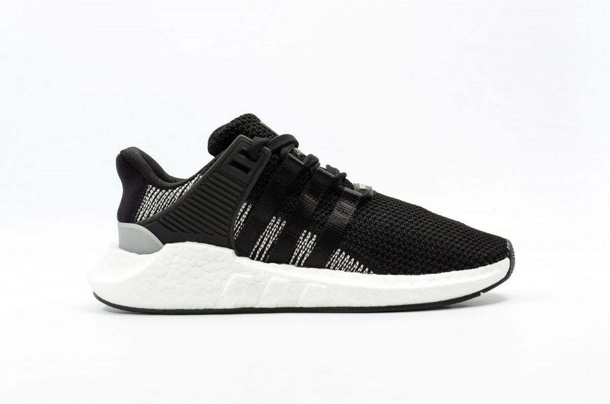 New Men's ADIDAS BOOST Sneaker EQT Support 93/17 Equipment Sneaker BOOST - BY9509 Black US 9 245cd3