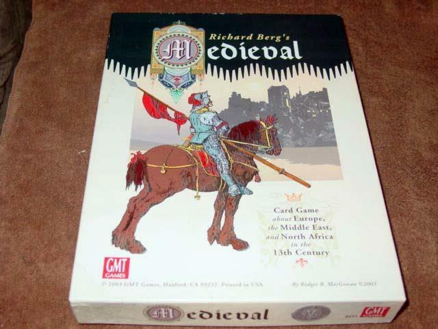 GMT 2003 - Richard Berg - MEDIEVAL - 13th Century  Warfare autod gioco (Punched)  qualità autentica