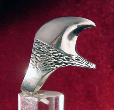 Stainless Dragon Talon Biker Ring Custom Size Handmade Medieval bear Claw  R7ss