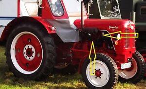 Famulus-Traktor-Schlepper-Auspuff-Schalldaempfer-Zyklon-Auspuffdaempfer-Rohr