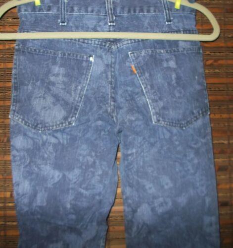 Men's Vintage Levi's1970 Blue Bell Bottoms Orange