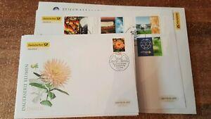 Germany-Federal-Frg-FDC-vintage-yearset-2006-Postmarked-complete-O-Slbskl