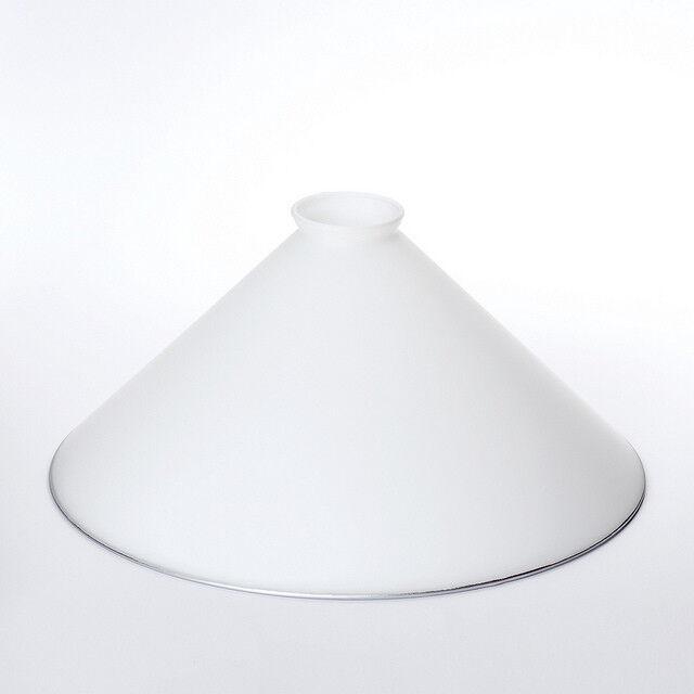 Landhaus Ersatzglas mit Kragenrand weiß in vielen Größen Ersatzglas Griffrand  | Wir haben von unseren Kunden Lob erhalten.