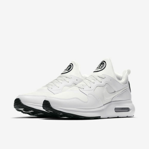 Nike Air Max Prime Mens 876068 100 White Platinum Black Running Shoes Size 9.5