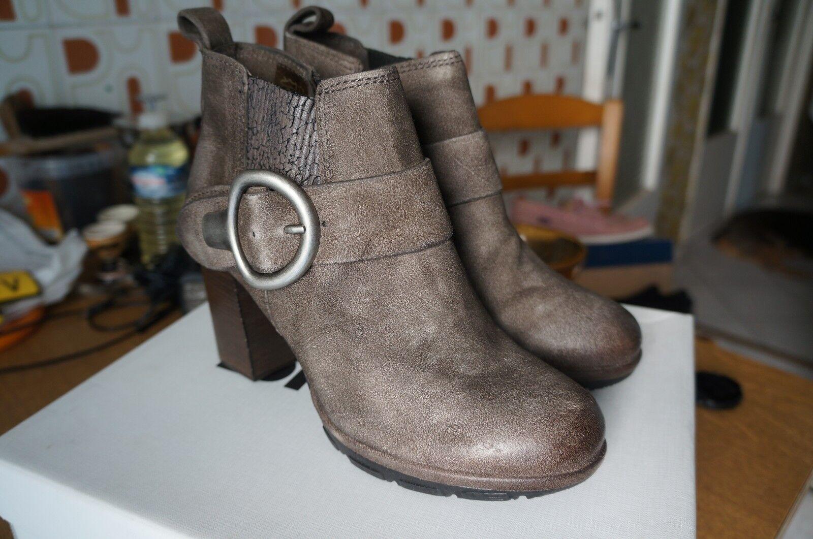 Zapatos especiales con descuento Mjus Damen 183202-0101-6321 Kurzschaft Stiefel, Grau (Pepe), 37 EUùùùùùùùùùùùùù
