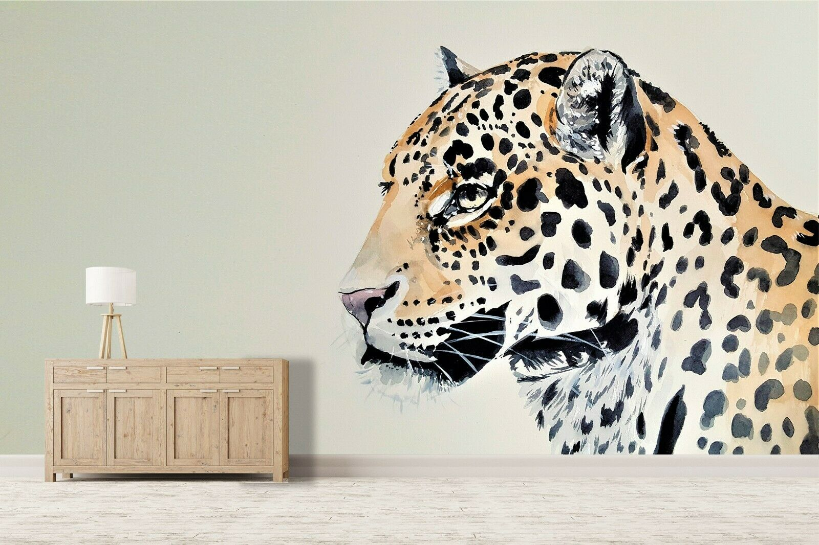 3D Malen Gepard Q22 Tier Tapete Wandbild Selbstklebend Abnehmbare Acmy