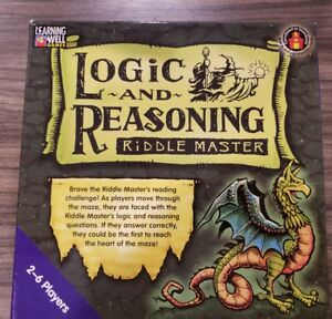 Details about Learning Well Games: Logic and Reasoning Riddle Master,  Reading Levels 3 5 to 5