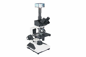 2000x-Trinocular-Research-Doctor-Vet-Lab-Microscope-w-3Mp-USB-PC-Camera-HLS-EHS