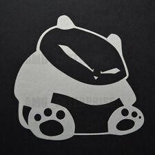 WHITE PANDA Decalcomania Adesivo Vinile badge per FIAT 500 500L ABARTH BRAVO PANDA 100HP