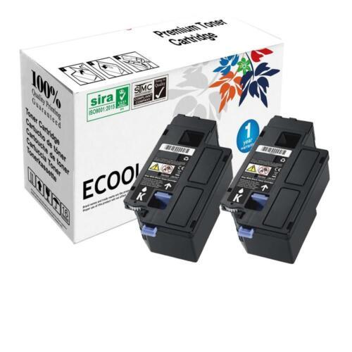 2pk DPV4T Black Toner Cartridge fit Dell Color Laser E525W Printer FAST SHIPPING