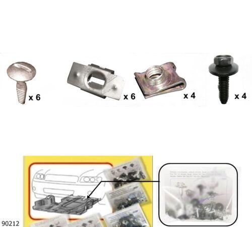 Einbausatz Unterbodenschutz Unterfahrschutz Citroen C5-II 90212