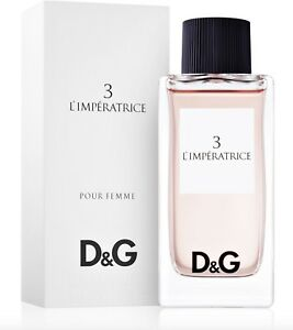 D&G 3 L'Imperatrice Pour Femme 100mL EDT Authentic Perfume for Women COD PayPal