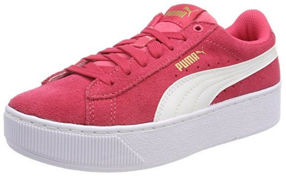 Puma Vikky Piattaforma Jr Bambini Bambini Bambini Scarpe scarpe da ginnastica 366485 Paradise Fucsia Sale 897c7d