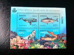 España año 2013 Fauna Marina en Peligro de Extinción Nº 4799 MNH