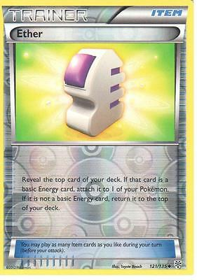 POKEMON BLACK AND WHITE PLASMA STORM ETHER 121//135