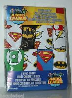 Justice League Boys / Toddler Briefs 8 Pack Different Sizes 2t, 3t, 4, 6, 8