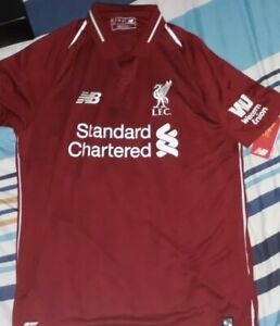 Liverpool-2018-2019-Signed-Jersey-by-James-Milner-vice-captain