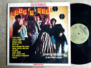 Jimmy-Ridding-amp-the-Blue-Shoes-Rock-039-n-039-roll-LP