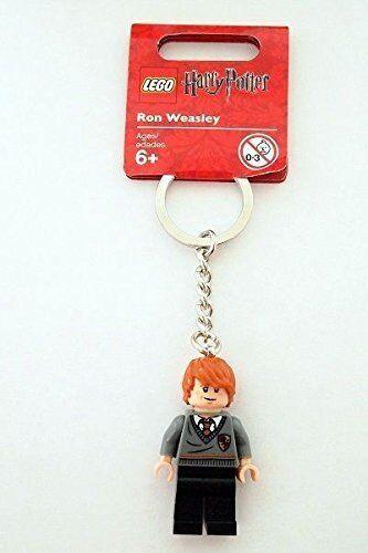LEGO Harry Potter Ron Weasley Minifigure Keychain 852955