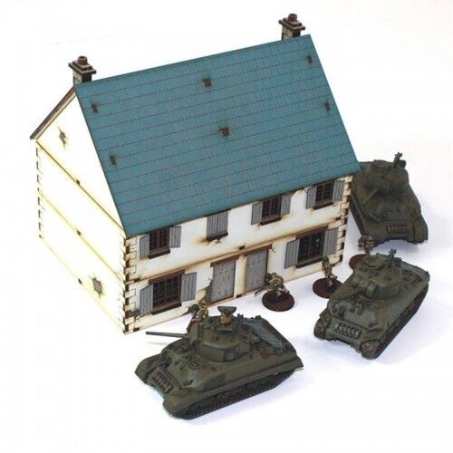 20mm Semi Detached Cottage Type 1  -  4GROUND - 20S-WAW-106-4G2011
