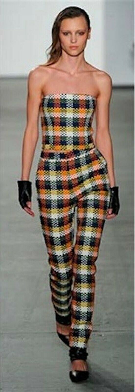 Sass & Bide None The Wiser Pant Woven Multi color New York Fashion Week US 4 NEW