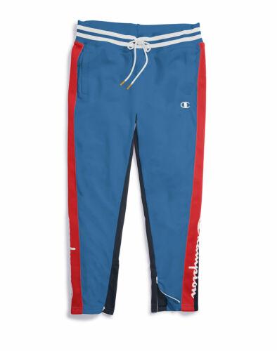 Track Pants Champion Life Women/'s Tricot Script Logo Slim Leg Pockets sz XS-2XL