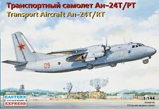 1/144 Transport Aircraft An-24T/RT  Eastern Express 14468 Model kit