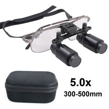 5x 50x300 500mm Dental Loupes Surgical Medical Binocular Magnifier Zooming Lens