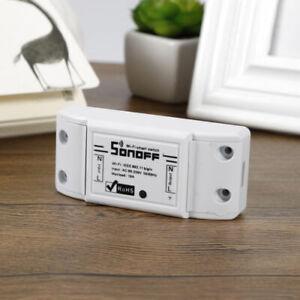 NUOVO-sonoff-ITEAD-WiFi-Wireless-Smart-Switch-Modulo-GUSCIO-ABS-presa-per-la-casa