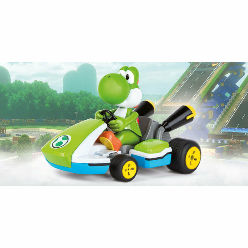CARRERA RC 1 16 Mario Kart 8 Yoshi Race Kart w  sound 2.4GHz Ready to Run 162108