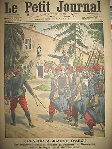 DOMREMY-HONNEUR-A-JEANNE-D-039-ARC-AVIATION-VILLACOUBLAY-LE-PETIT-JOURNAL-1913