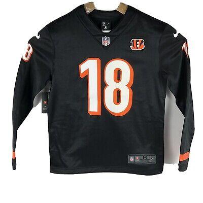Nike NFL Bengals AJ Green Therma Long Sleeve Jersey Black AH5741-019 Medium