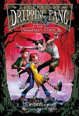1 of 1 - The Vampire's Curse (Secrets of Dripping Fang), Greenburg, Dan, Very Good Book